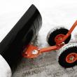 Hrablo na sníh s kolečky FUXTEC