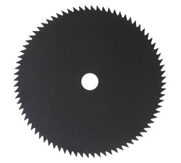 Ocelový nůž pro křovinořezy 80 x 230 x 1,8mm
