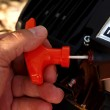 Půdní jamkovač FX-EB152 včetně vrtáku o průměru 100 mm