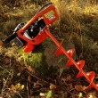 Půdní jamkovač FX-EB152 včetně vrtáků o průměru 100,150,200 mm