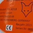 Akumulátorový zádový postřikovač FX-AD18