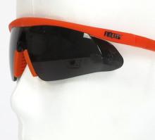 Černé ochranné brýle Fuxtec