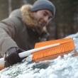 Set zimní - škrabka na led, rukavice a lopata do auta