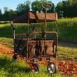 Skládací vozík FX-CT-700-B s ochrannou stříškou