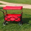 Skládací vozík FX-CT-700-R s ochrannou stříškou