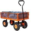 Zahradní vozík s výklopnými boky FX-GW350 a vnitřní plachtou