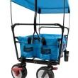Skládací vozík CT-350-BL s ochrannou stříškou