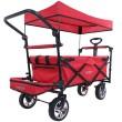 Skládací vozík FX-CT-800-R s ochrannou stříškou a prodloužením